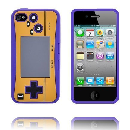 4s Peliohjain Suojakuori Violetti Iphone 4s Silikonikuori
