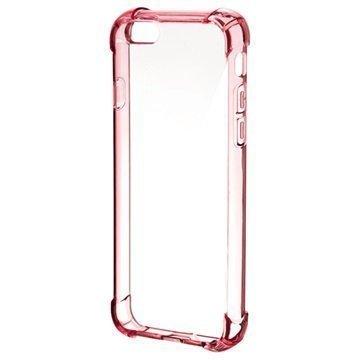 4smarts Ibiza Clip iPhone 6/6S Suojakuori Pinkki / Läpinäkyvä
