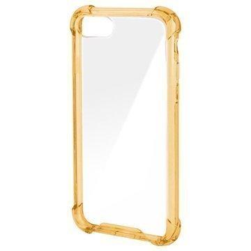 4smarts Ibiza Clip iPhone 7 Suojakuori Kulta / Läpinäkyvä