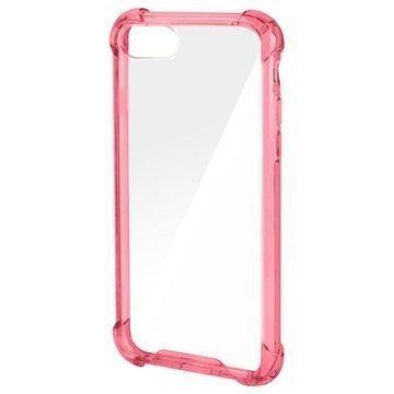 4smarts Ibiza Clip iPhone 7 Suojakuori Pinkki / Läpinäkyvä
