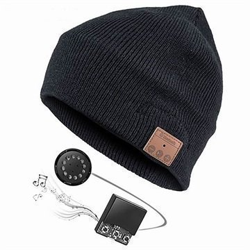 4smarts Pipo Bluetooth-Kuulokkeilla Musta