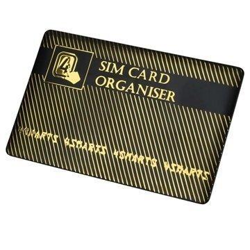 4smarts SIM-Korttipidike & Sovitinsetti Kulta