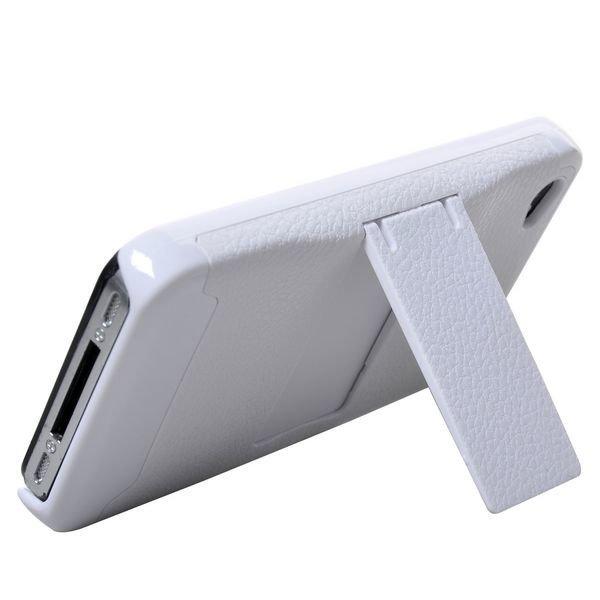 A-Type Stand Valkoinen Iphone 4 Suojakuori