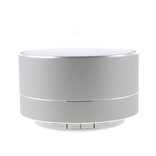 A10 Langaton Mini Bluetooth Kaiutin Hopea Metalli Kuorella