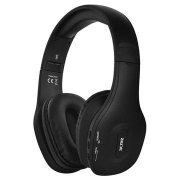 ACME BH40 Bluetooth Kuulokkeet Mikrofonilla Musta