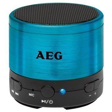 AEG BSS 4826 Bluetooth Kaiutin Sininen