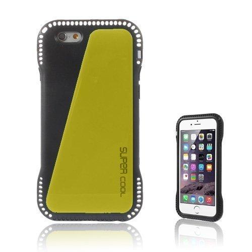 Aalto Keltainen Iphone 6 Nahkapäällysteinen Suojakuori