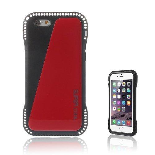 Aalto Punainen Iphone 6 Nahkapäällysteinen Suojakuori
