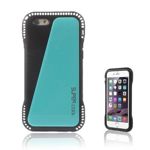Aalto Sininen Iphone 6 Nahkapäällysteinen Suojakuori