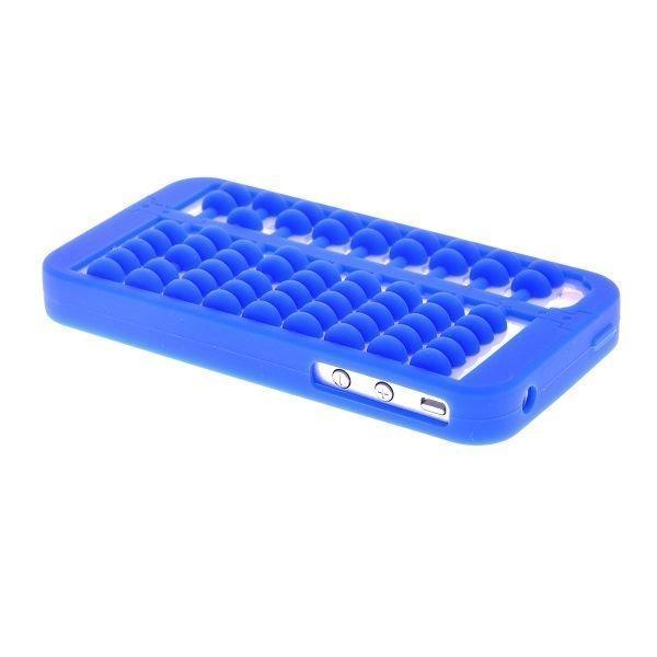 Abacus Sininen Iphone 4 / 4s Silikonikuori