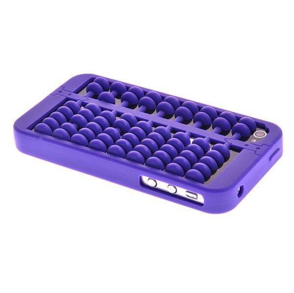 Abacus Violetti Iphone 4 / 4s Silikonikuori
