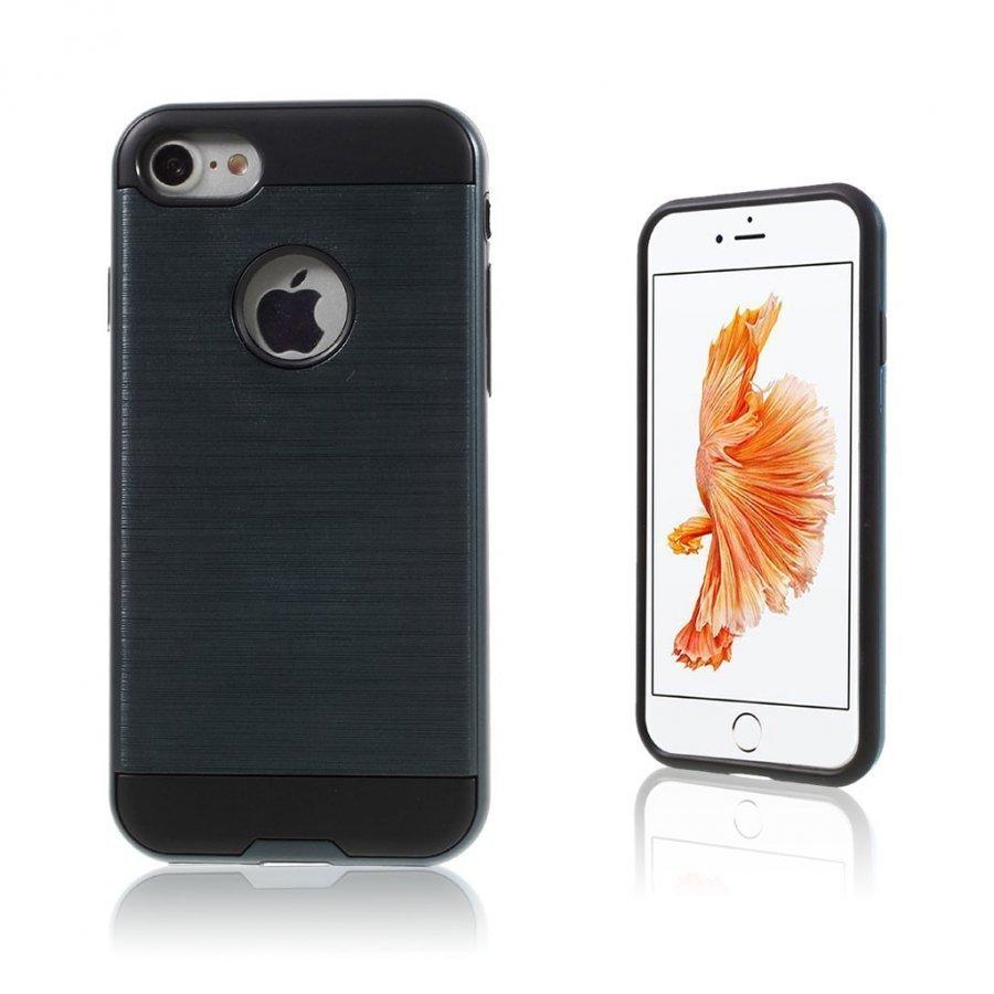 Absalon Iphone 7 Harjattu Joustava Muovikuori Tummansininen