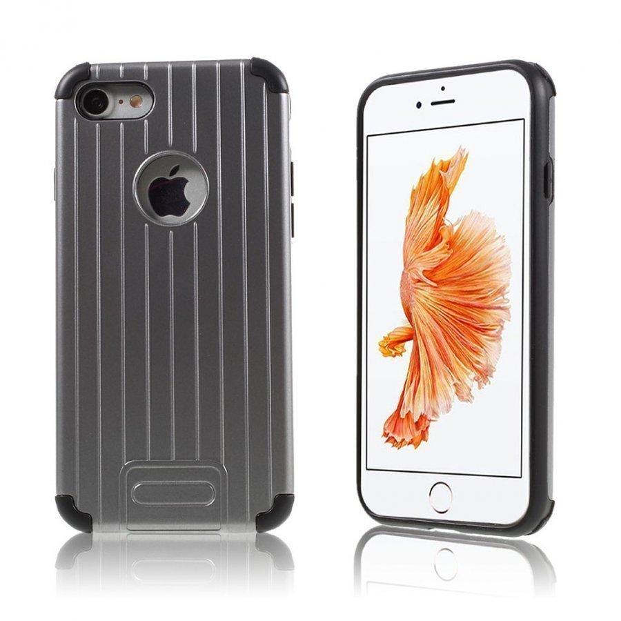 Absalon Iphone 7 Matkalaukku Tyylinen Kuori Harmaa