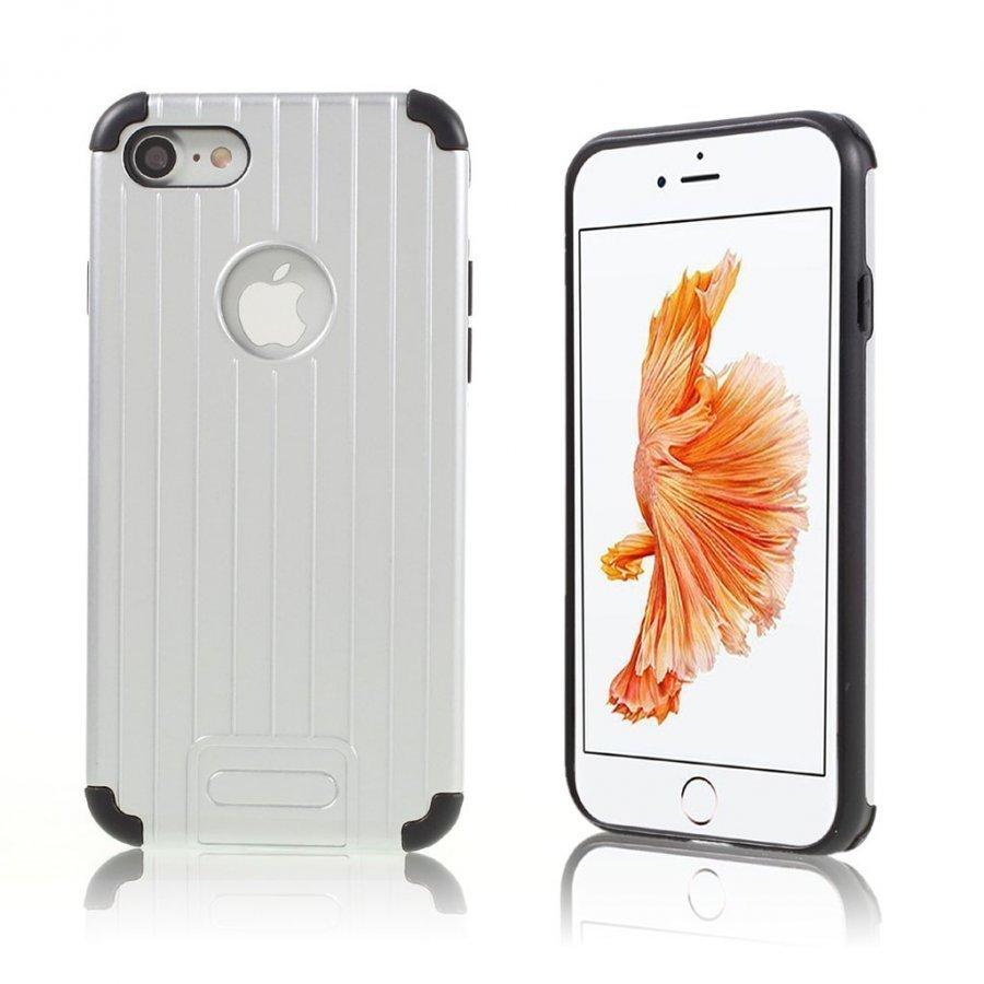 Absalon Iphone 7 Matkalaukku Tyylinen Kuori Hopea
