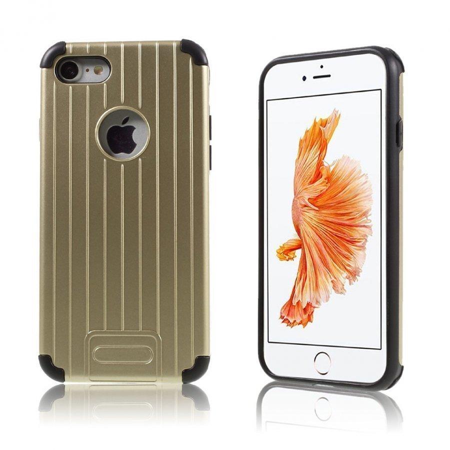 Absalon Iphone 7 Matkalaukku Tyylinen Kuori Kulta