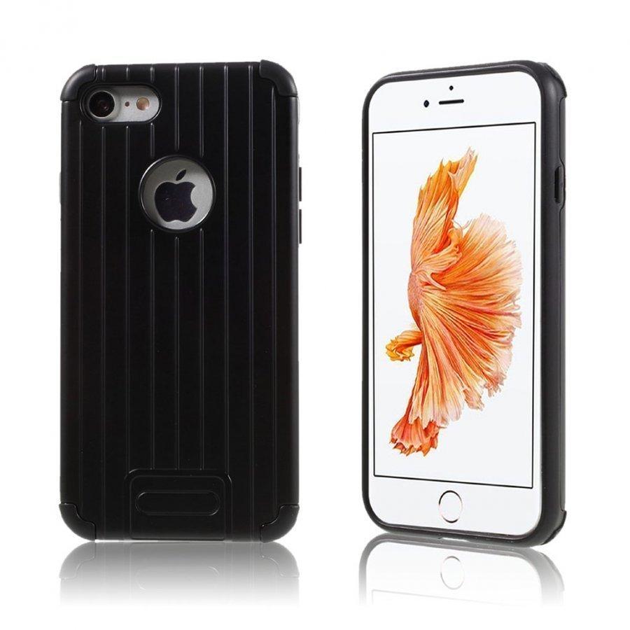 Absalon Iphone 7 Matkalaukku Tyylinen Kuori Musta