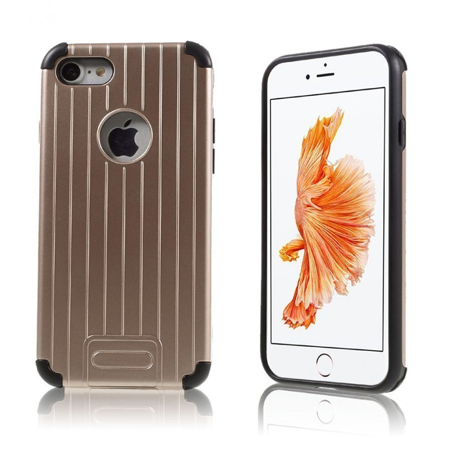 Absalon Iphone 7 Matkalaukku Tyylinen Kuori Rosee Kulta