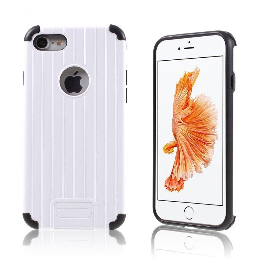 Absalon Iphone 7 Matkalaukku Tyylinen Kuori Valkoinen