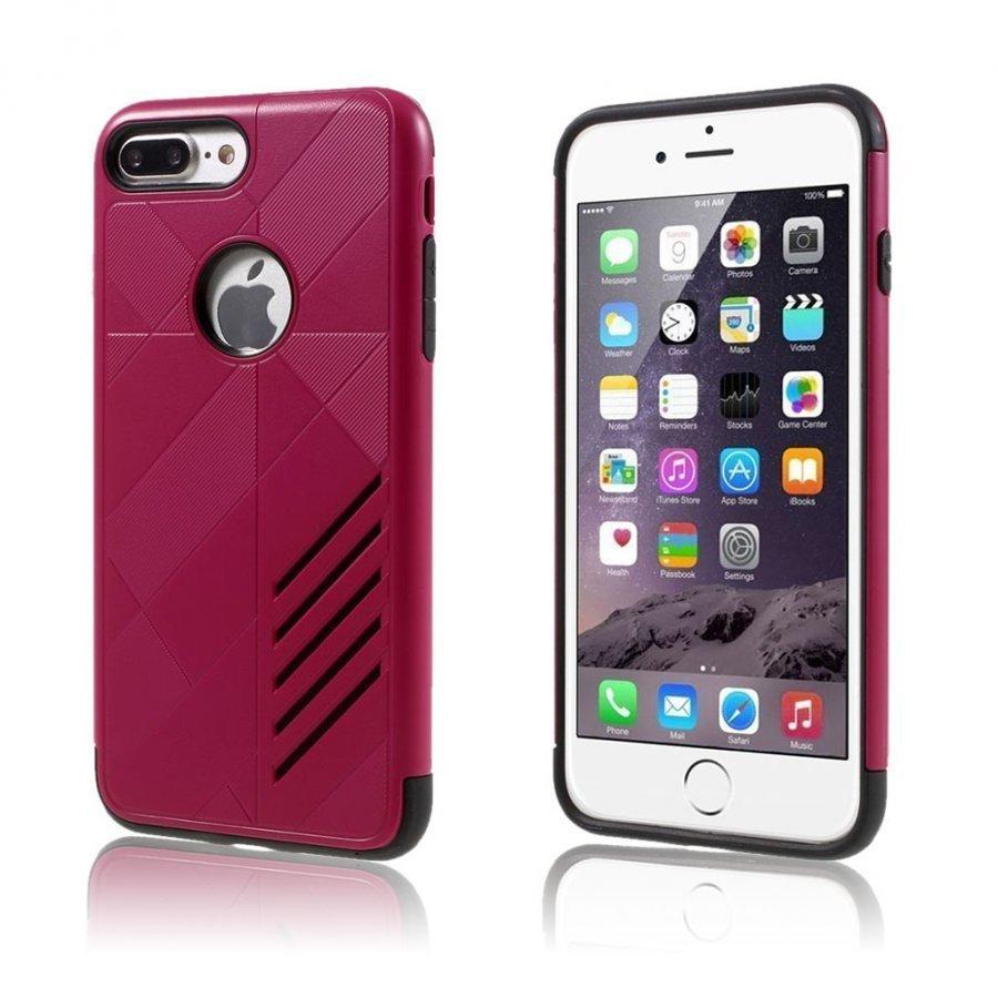 Absalon Iphone 7 Plus Joustava Hybridi Kuori Violetti