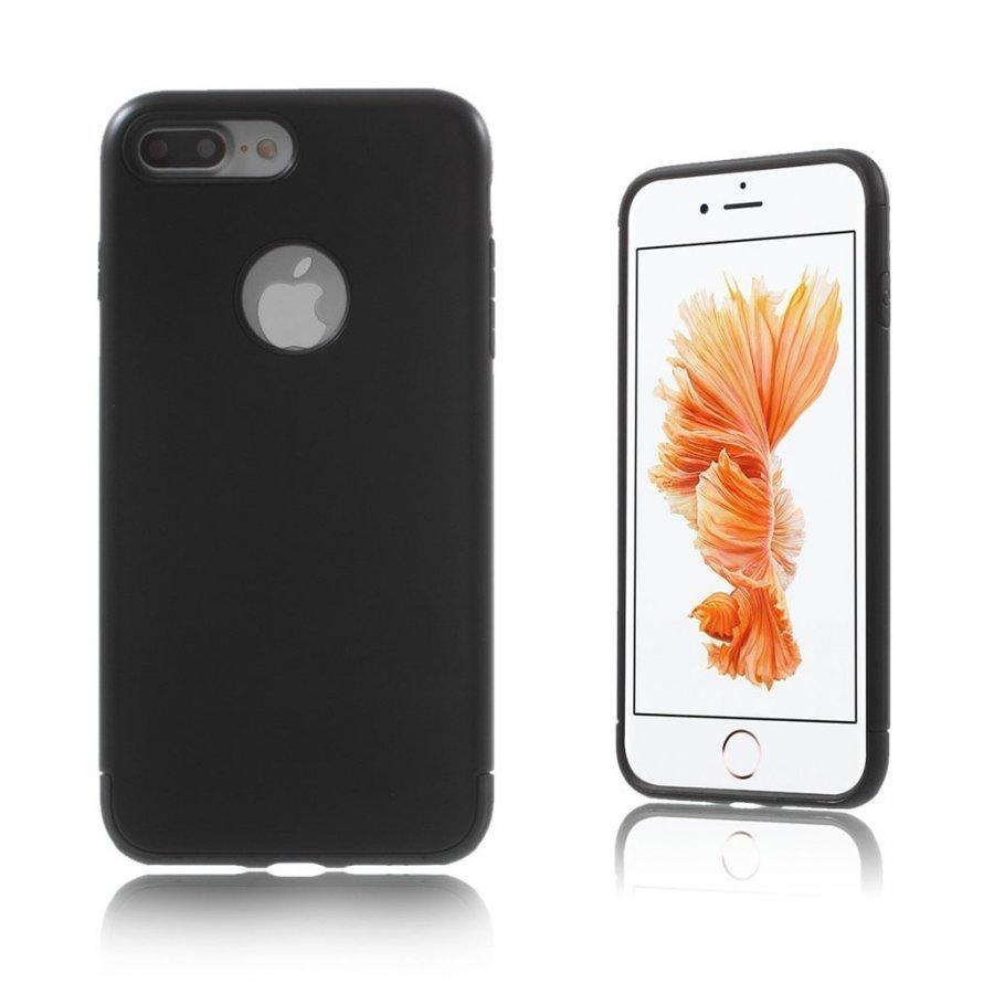 Absalon Iphone 7 Plus Joustava Hybridi Panssari Kuori Musta