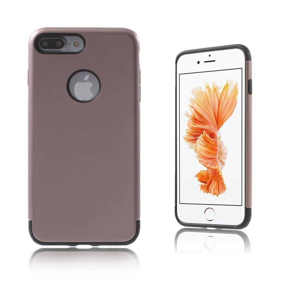 Absalon Iphone 7 Plus Joustava Hybridi Panssari Kuori Punakulta