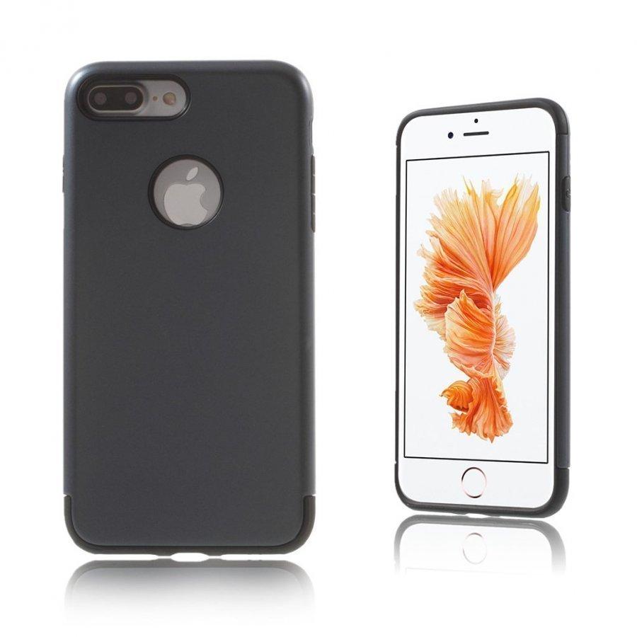 Absalon Iphone 7 Plus Joustava Hybridi Panssari Kuori Tummansininen
