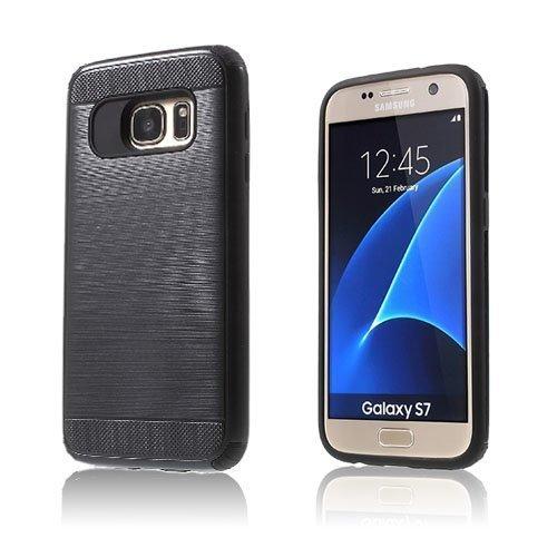 Absalon Samsung Galaxy S7 Hybridi Kuori Hopea