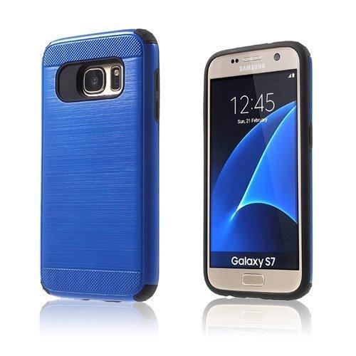 Absalon Samsung Galaxy S7 Hybridi Kuori Sininen