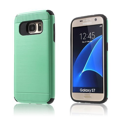 Absalon Samsung Galaxy S7 Hybridi Kuori Syaani