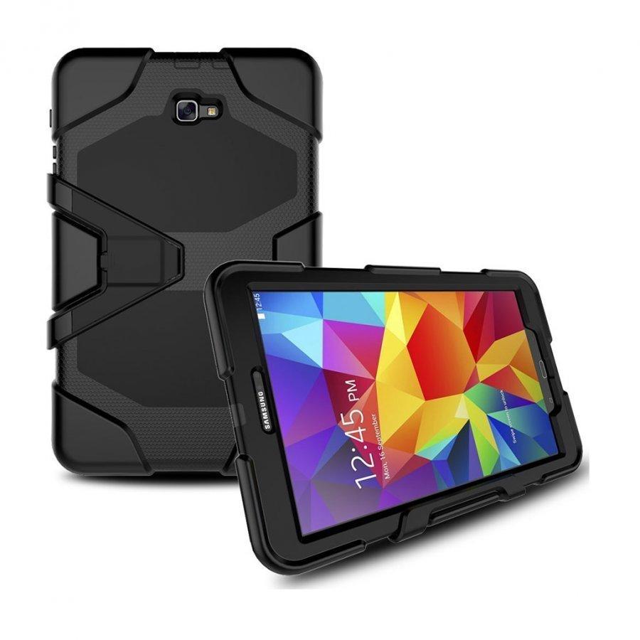 Absalon Samsung Galaxy Tab A 10.1 2016 Iskunkestävä Kuori Musta