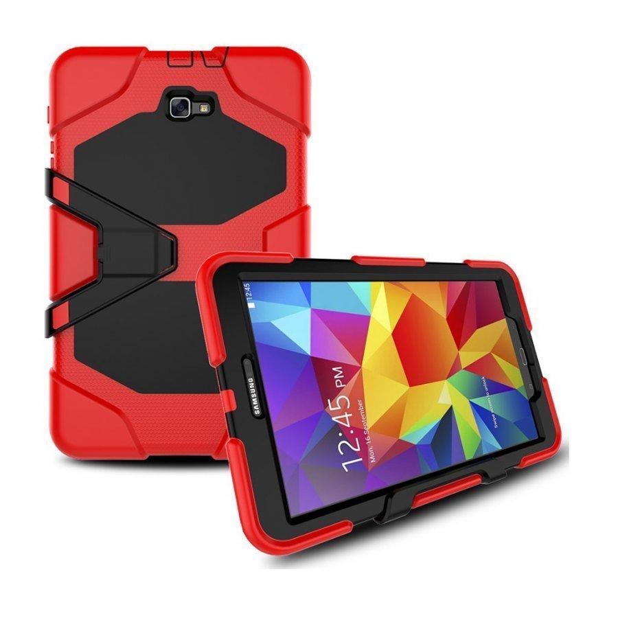Absalon Samsung Galaxy Tab A 10.1 2016 Iskunkestävä Kuori Punainen