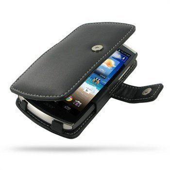 Acer CloudMobile PDair Leather Case 3BACS5B41 Musta