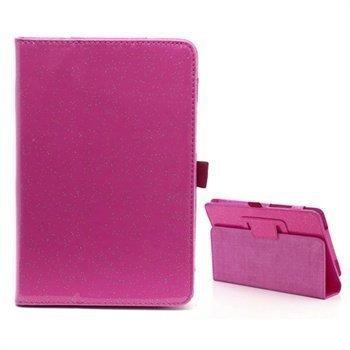 Acer Iconia Tab A110 Folio Nahkakotelo Kuuma Pinkki