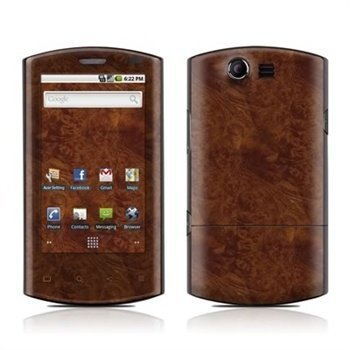 Acer Liquid Dark Burlwood Skin