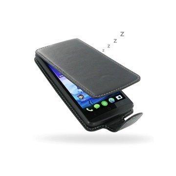 Acer Liquid E700 PDair Deluxe Nahkainen Läppäkotelo Musta