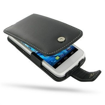 Acer Liquid Gallant Duo PDair Leather Case 3BACE5F41 Musta