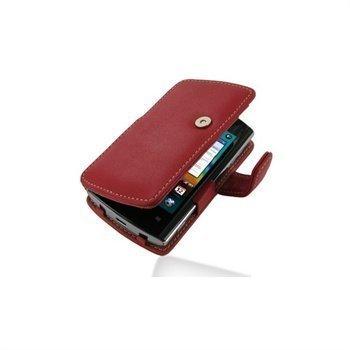Acer Liquid Metal PDair Leather Case 3RACMLB41 Punainen