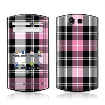 Acer Liquid Pink Plaid Skin