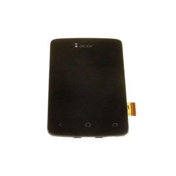 Acer Liquid Z3 Etukuori & LCD Näyttö Musta
