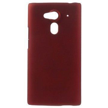 Acer Liquid Z5 Kova Kumipinnoitettu Suojakuori Punainen
