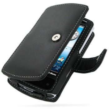 Acer Liquid e PDair Leather Case 3BACLAB41 Musta