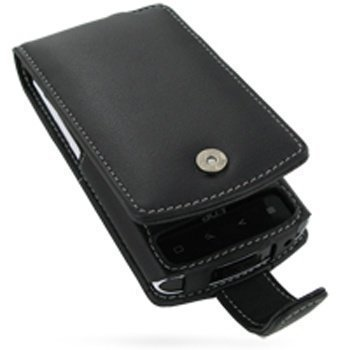 Acer Liquid e PDair Leather Case 3BACLAF41 Musta