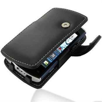 Acer Liquid mini E310 PDair Leather Case 3BACE3B41 Musta