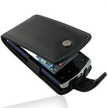 Acer Liquid mini E310 PDair Leather Case 3BACE3F41 Musta
