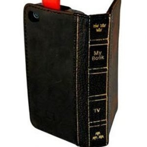 Adifone MyBook wallet for iPhone 4 / 4S Brown