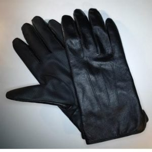 Adifone MyGlove Leather glove for Touchscreen Black size  9