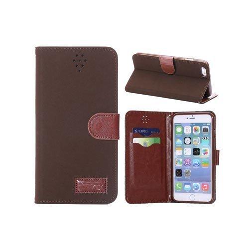 Adler Kahvi Iphone 6 Plus Nahkakotelo