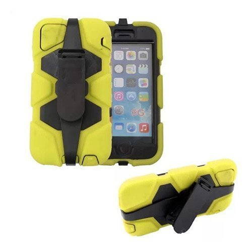Adrian Keltainen Iphone 6 Vyöpidike Suojakotelo