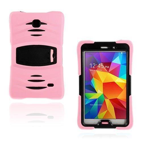 Adrian Vaaleanpunainen Samsung Galaxy Tab 4 7.0 Suojakotelo