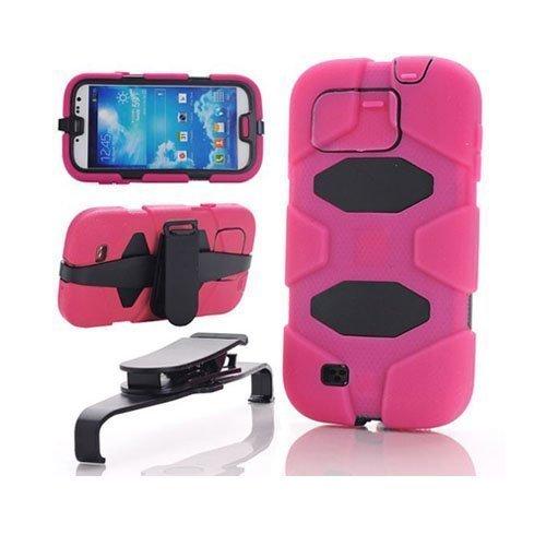 Adventurer Kuuma Pinkki Samsung Galaxy S4 Suojakuori